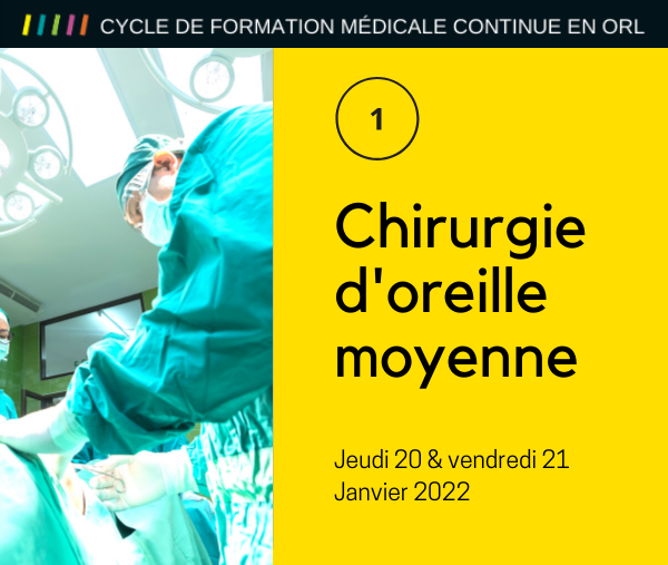 Chirurgie d'oreille moyenne